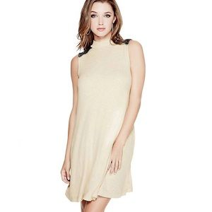 Guess Ribbed Sleeveless Day Dress